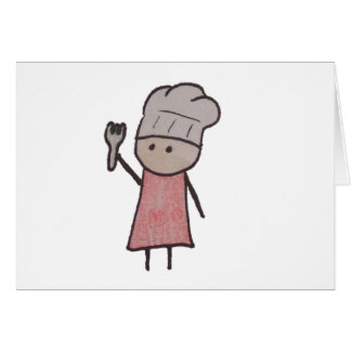 Little One chef note cards
