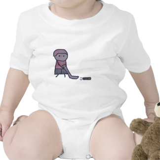 Little One hockey baby bodysuit
