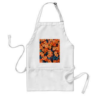 Little Orange Flowers Standard Apron