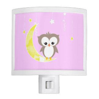 Pink Owl Night Lights Pink Owl Nite Lite Designs