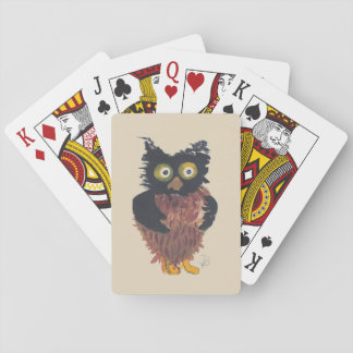 Little Owl Playing Cards