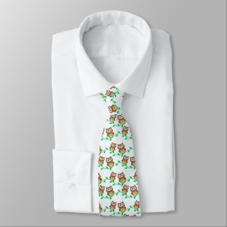 Little Owls Tie