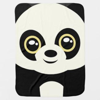 Little panda baby blanket