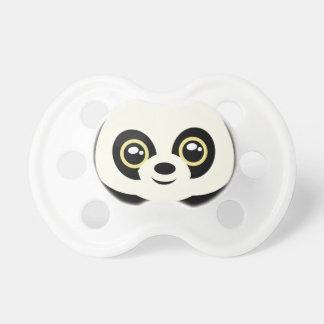 Little panda baby pacifier