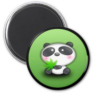 Little Panda Cub Refrigerator Magnet