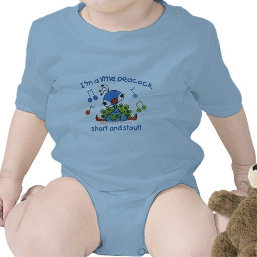 Little Peacock Short and Stout Tee Shirt