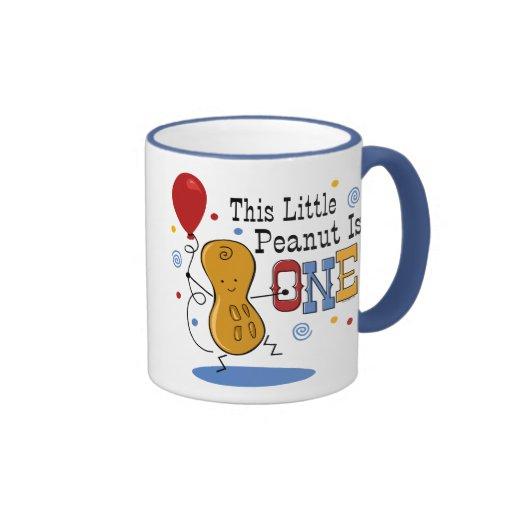 Little Peanut 1st Birthday Mug