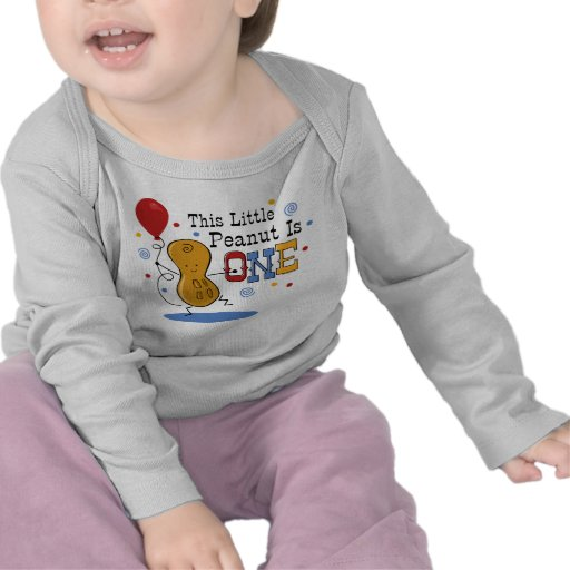 Little Peanut 1st Birthday T-shirts
