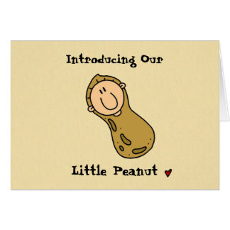 Little Peanut Birth Announcement