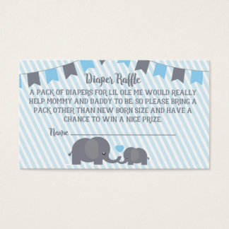 Little Peanut Diaper Raffle Card
