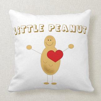 Little Peanut Throw Pillow