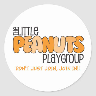Little Peanuts Round Stickers