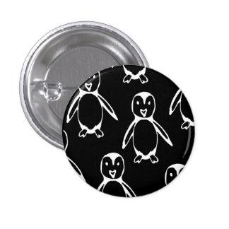Little Penguin 1 Inch Round Button