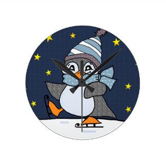 Little Penguin Wallclocks