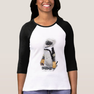 Little  Penguin Wearing Hockey Gear T-Shirt