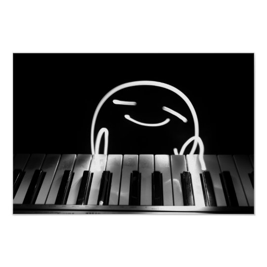 Little Piano Player Poster