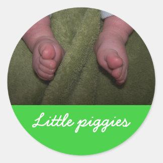 Little piggies Sticker