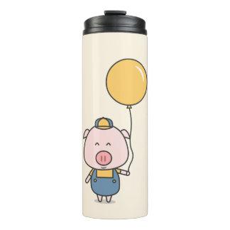 Little Piggy Kawaii Thermal Tumbler