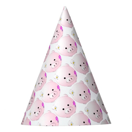 Little piggy party hat