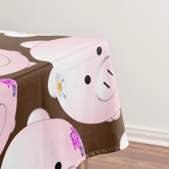 Little piggy tablecloth