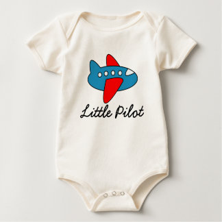 Little pilot baby jumpsuit with airplane cartoon baby bodysuit