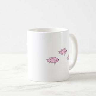 Little Pink Coral Reef Fish Coffee Mug