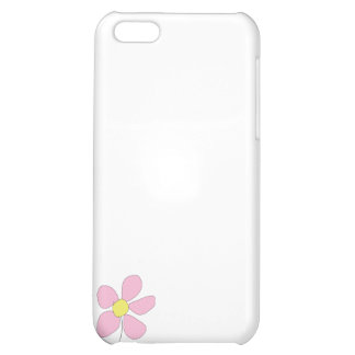 Little Pink Flower Cover For iPhone 5C