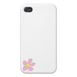 Little Pink Flower iPhone 4/4S Covers