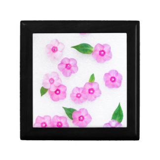 little pink flowers gift box