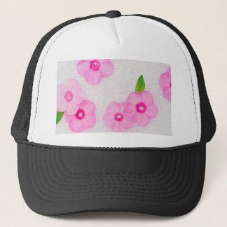 little pink flowers trucker hat