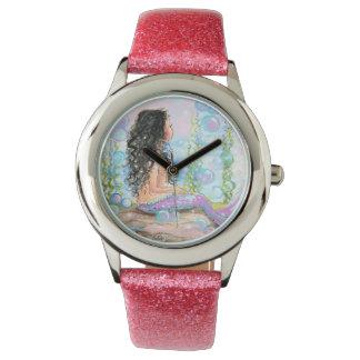 Little Pink Mermaid Watch