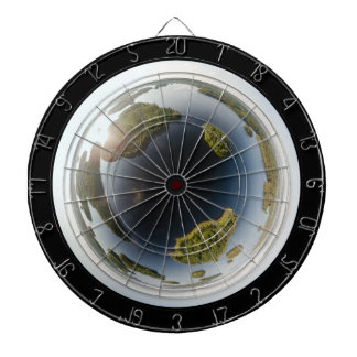 Little planet lake dartboard