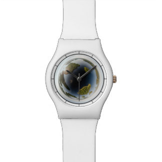 Little planet lake wrist watches