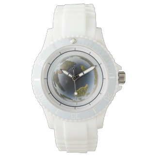 Little planet lake wristwatches
