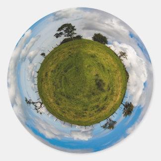 Little Planet Round Sticker