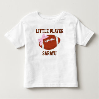 Little Player Custom Toddler Fine Jersey T-Shirt