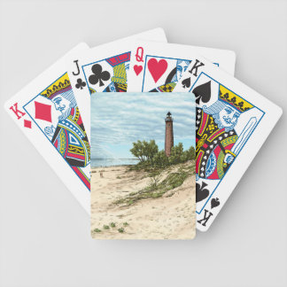 Little Point Sable Lighthouse Playing Cards