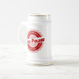 Little Poland Beer Stein