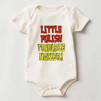 Little Polish Trouble Maker Baby Bodysuit