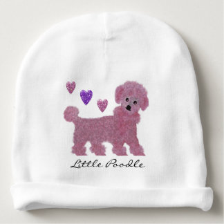 Little Poodle Baby Beanie