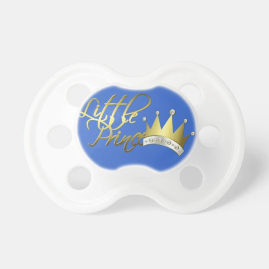 Little Prince Baby Pacifier