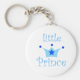 little prince basic round button keychain