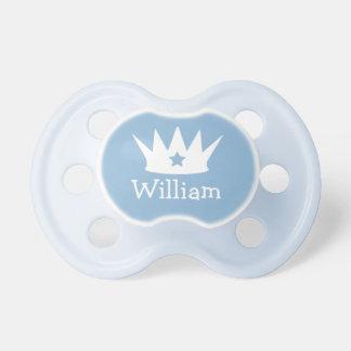 Little Prince   Custom Blue Baby Pacifier