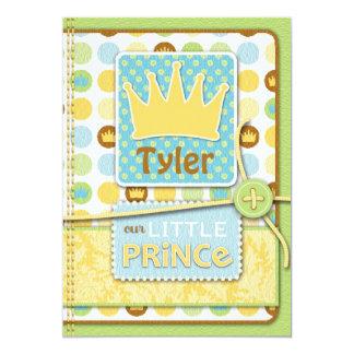Little Prince Invitation