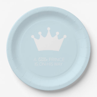 LITTLE PRINCE PAPER PLATE