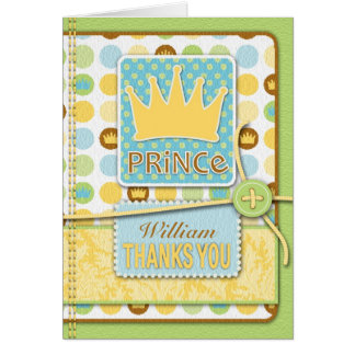 Little Prince TY Card