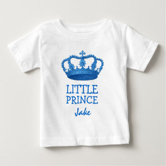 Little Prince with Crown V23A Baby T-Shirt