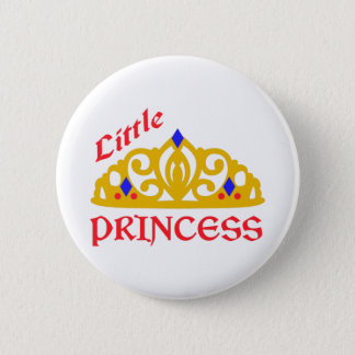 Little Princess 2 Inch Round Button