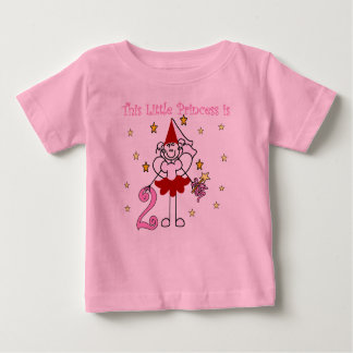 Little Princess 2nd Birthday Baby T-Shirt