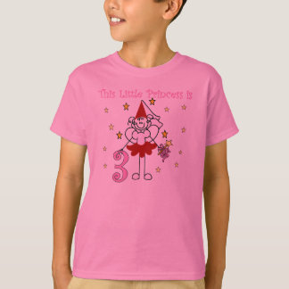 Little Princess 3rd Birthday T-Shirt
